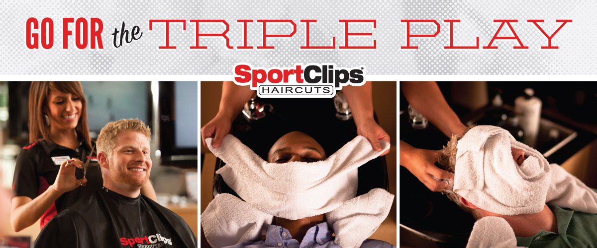 The Sport Clips Haircuts of 152 Hwy and North Oak Triple Play